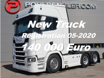 Scania S650 6x2 2950mm Ready for delivery -DOUBLE BOOGIE RETARDER EURO 6 - شاحنة جرار