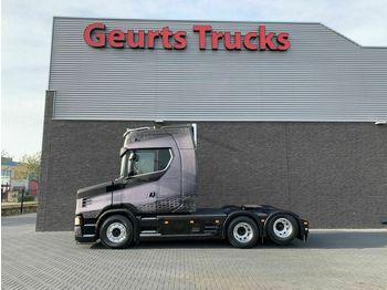 Scania S 650 T 6X2 TRACTOR NEW TORPEDO NOSE HAUBE  - شاحنة جرار