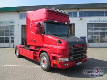 Scania T124 LA4X2NB 420 Hauber - TOP ZUSTAND!!! Topline P - شاحنة جرار