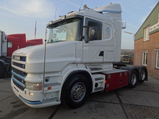 Scania T500 6X2 V8 tractor unit from Netherlands for sale at Truck1