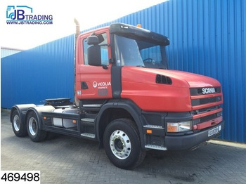 Tractor unit Scania Torpedo 6x4, Manual, Airco, Hydraulic, Steel sus