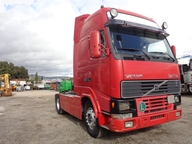 Volvo Fh16 520 Xl Cabin Tractor Unit From Greece For Sale