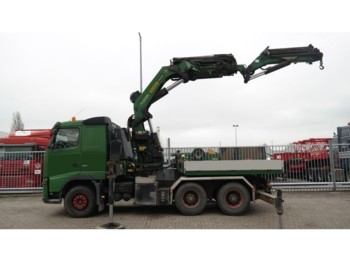 Tractor unit Volvo FH 480 6x4 TRUCK WITH PALFINGER PK 56002 CRANE AND PJ 125 JIB.