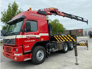 Volvo FM 12-380 MANUAL EURO 2 + HMF 3723K4  - trækker