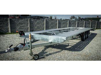 Boro NOWA LAWETA NA DWA AUTA 8m DMC 3500kg! - autotransporter trailer
