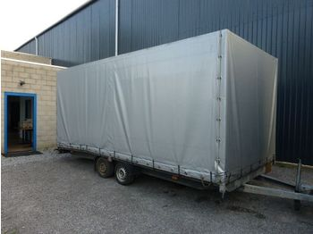 Humbaur 2 asser - autotransporter trailer