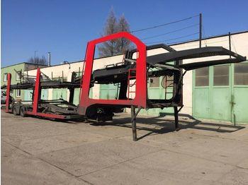 LOHR Eurolohr 1.23  - مقطورة شحن نقل السيارات