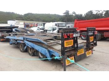 LOHR TRAILER FOR TRUCK TRANSPORT - مقطورة شحن نقل السيارات