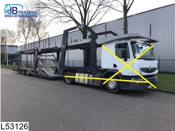 Lohr Middenas Lohr , Eurolohr, Car transporter, Combi - مقطورة شحن نقل السيارات