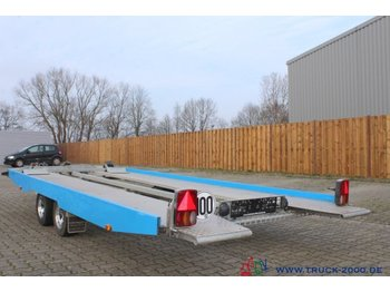 WM Meyer WM EG-KHL 3000 ALU + Hydraulik + Seilwinde 1. Hd - autotransporter trailer