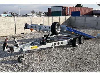 Wiola Nowa laweta UCHYLNA - L25G45P 4.50M 2700 KG! - autotransporter trailer