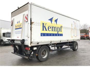 Beverage trailer  / -  Getränkeanh. Schwenkwand + LBW