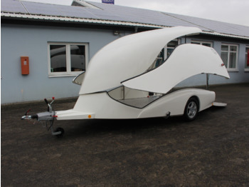 Car trailer EXCALIBUR S2 Trans-Form Luxus 100km/h Alu