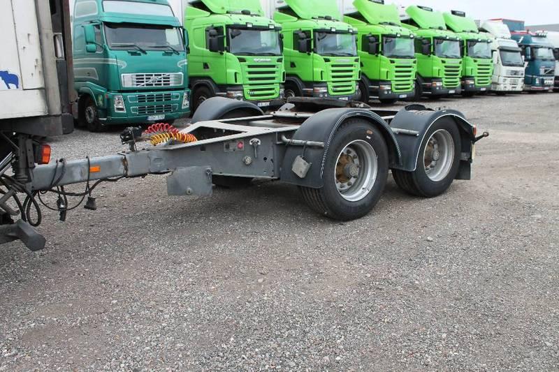 amt trailer d218 chassis trailer from sweden for sale at. Black Bedroom Furniture Sets. Home Design Ideas
