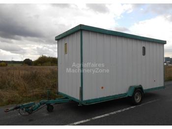 f rsvarets verkstadsvagn closed box trailer from sweden for sale at truck1 id 1666860. Black Bedroom Furniture Sets. Home Design Ideas