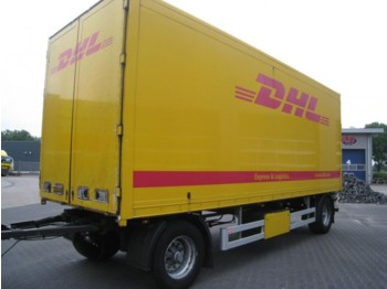 Pacton AXD.218 Doorlaad Systeem - closed box trailer