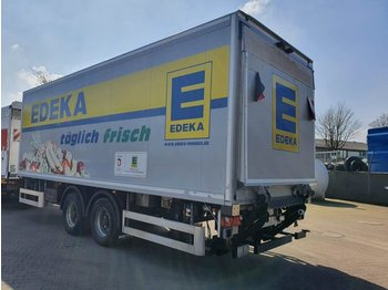 4 x 2-Achs Tandem Anhänger + LBW 2500 KG - closed box trailer