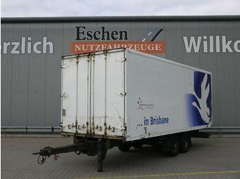 Closed box trailer Ackermann Z-KA-F 10.0/7.0E Koffer*Durchlader*Trommel*Luft