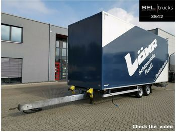 Fliegl Walther T4K207 / BPW / JUMBO  - closed box trailer