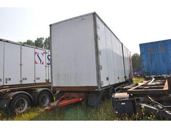 Closed box trailer HRD HDA Objekt