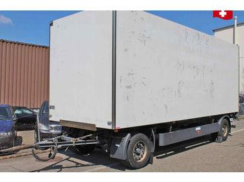 Meusburger MPA-2  - closed box trailer