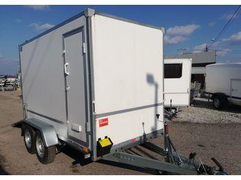 Niewiadów Furgon F2730HTD z trapem i drzwiami bocznymi - closed box trailer