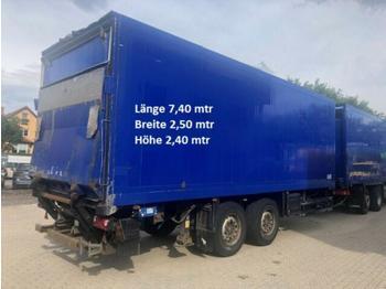Closed box trailer Schmitz Cargobull - Starrdeichsel Frischdienst ohne Kühlung