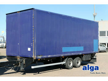 Closed box trailer Tang ZK 105, Tandem-Koffer, 7.400mm lang, Luft
