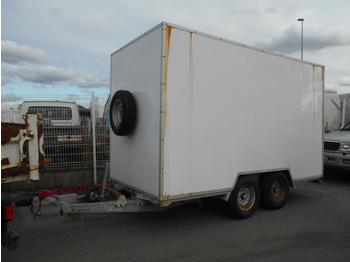 Closed box trailer Verem
