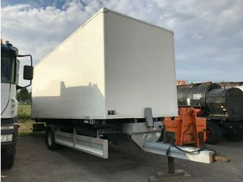 Closed box trailer Wuppinger Austria Type: 15479