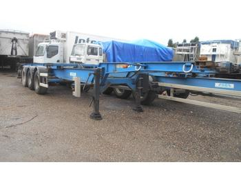 Container transporter/ swap body trailer Asca