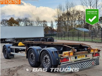 Bulthuis ADGA 10 3 axles Liftachse - container transporter/ swap body trailer