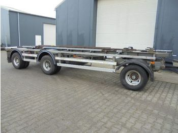 DAF 3 as aanhanger bladvering 30 Ton totaal - container transporter/ swap body trailer
