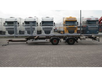 Container transporter/ swap body trailer DRACO 2 AXLE CONTAINER TRAILER