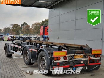 GS Meppel AIC-2700 N Containerchassis Liftachse - container transporter/ swap body trailer