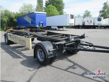 Hueffermann HSA 18.70 LS Abrollanhänger - container transporter/ swap body trailer