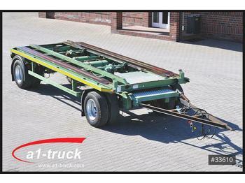Hüffermann Eggers Kombi, Absetz Abroll luft BPW 20.000 Kg.  - container transporter/ swap body trailer
