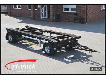 Hüffermann HAR 1865 Abrollanhänger BPW, Reifen 70 %  - container transporter/ swap body trailer
