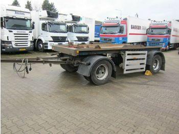 Hüffermann HMA 1812 Blattfederung Absetzcontainer  - container transporter/ swap body trailer