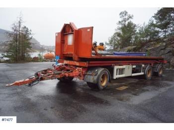 Huffermann Hark 24.70L - container transporter/ swap body trailer