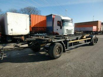 Kögel Combi MAXI AW 18 Lafette - container transporter/ swap body trailer