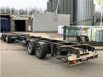 Kögel Mildner ZWF18 Tandem BDF  - container transporter/ swap body trailer
