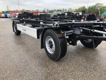 Container transporter/ swap body trailer Krone AZ 18,Lafette ,Neu,
