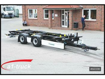Container transporter/ swap body trailer Krone ZZW 18 Tandem, 890mm - 1100mm, HU 12/2020