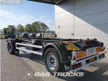 Container transporter/ swap body trailer Schmitz Cargobull AWF 18 1x 20ft