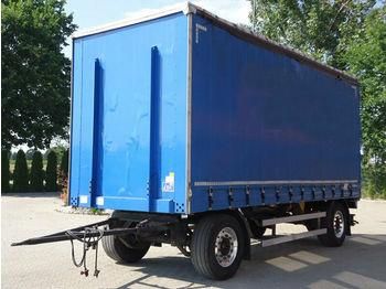 Curtainsider trailer Dinkel DAP 18000 Pritsche + Plane Anhaenger