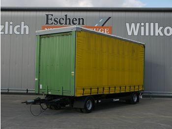 Curtainsider trailer Krone Anhänger Pritsche / Plane, Edscha, BPW, 1.Hand