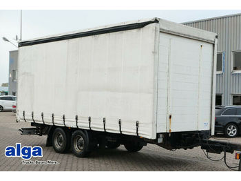 Curtainsider trailer NSD TPS, Tandem, 10,5to., Gardine, 6.200mm lang