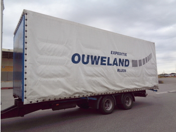 Pacton 18PG - curtainsider trailer