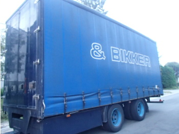 Pacton 18 PG - curtainsider trailer